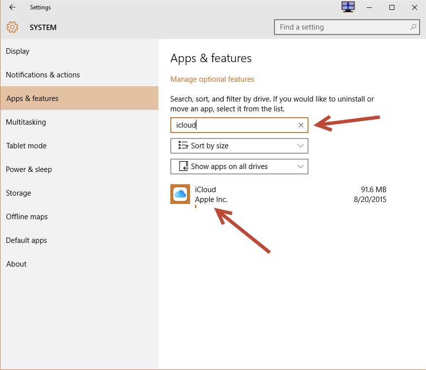 cannot see opened application on desktop