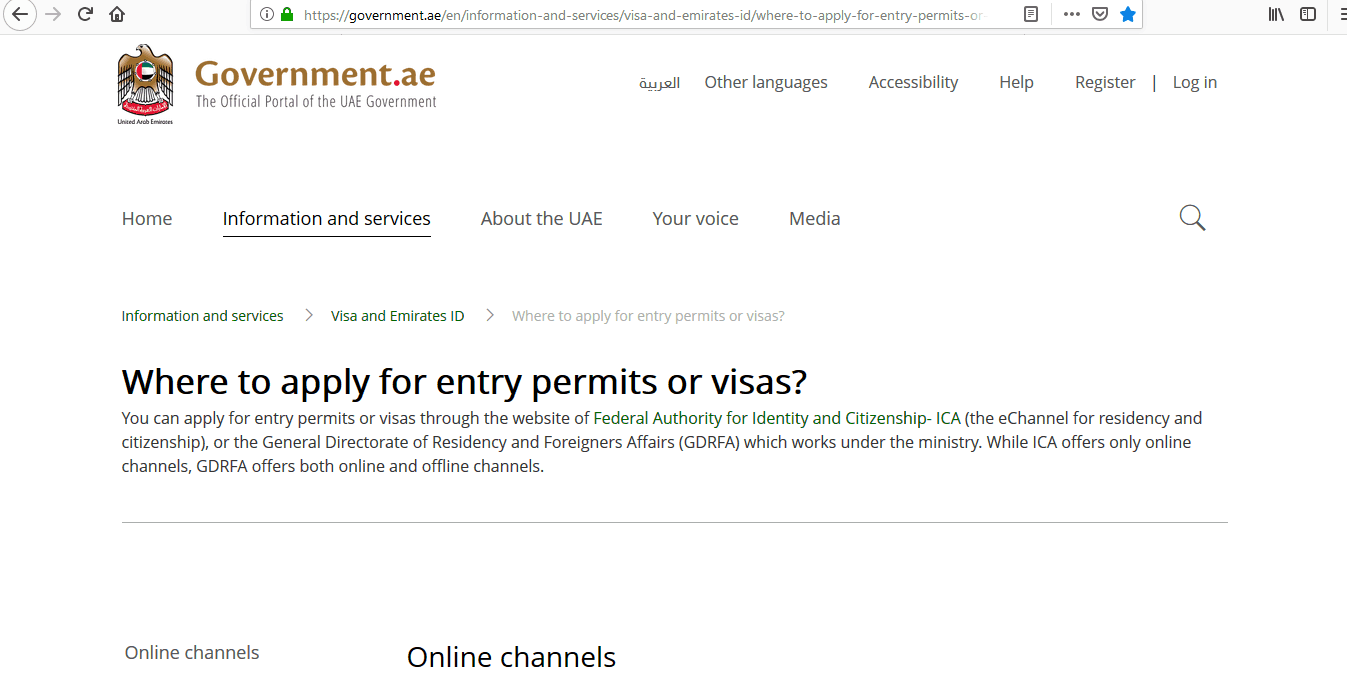 completed status on emirates application