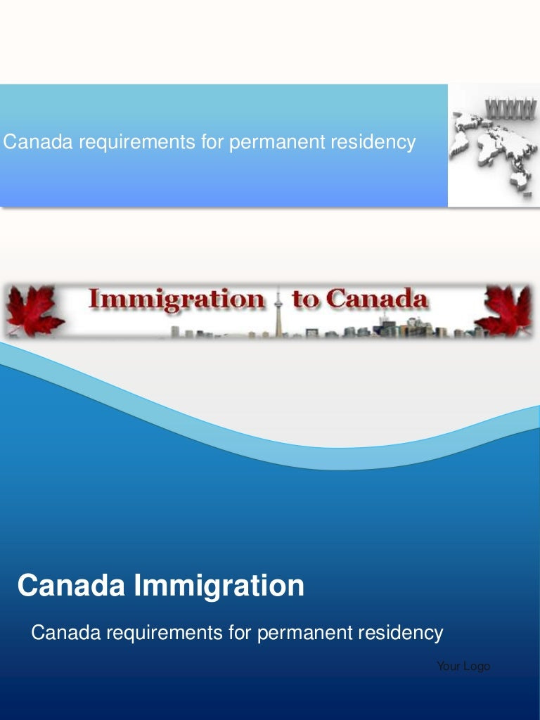 generic application for for canada permanent residence