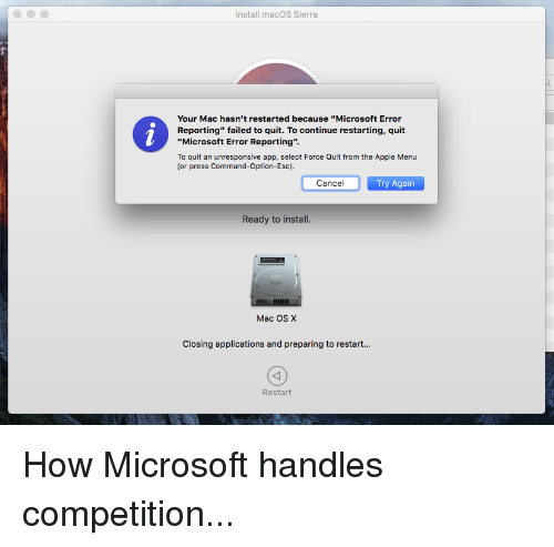 how to force shut down application in mac